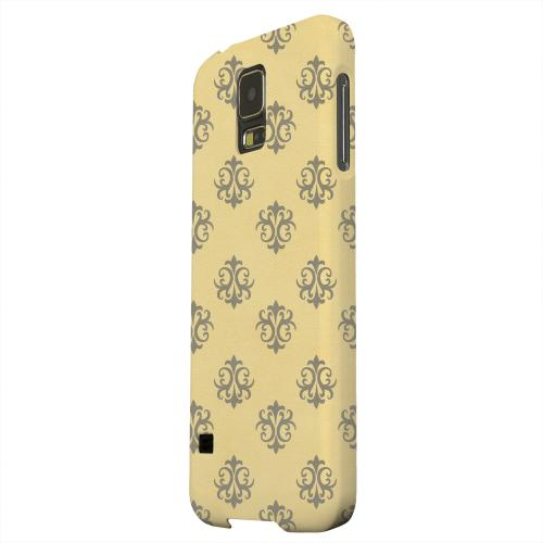 Geeks Designer Line (GDL) Samsung Galaxy S5 Matte Hard Back Cover - Ornamental Lemon Zest