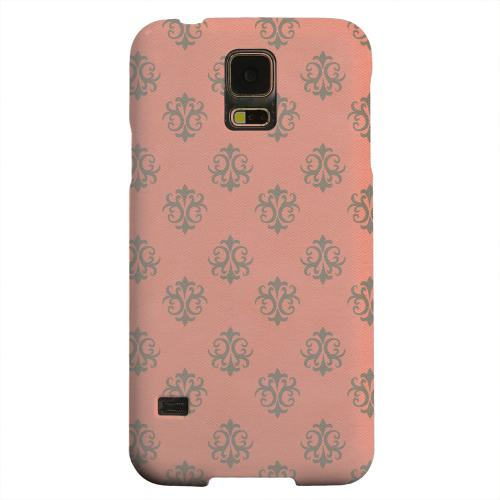 Geeks Designer Line (GDL) Samsung Galaxy S5 Matte Hard Back Cover - Ornamental Poppy Red