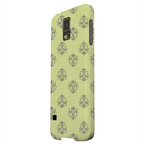 Geeks Designer Line (GDL) Samsung Galaxy S5 Matte Hard Back Cover - Ornamental Tender Shoots