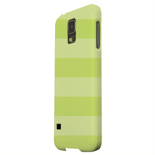 Geeks Designer Line (GDL) Samsung Galaxy S5 Matte Hard Back Cover - Stripes Tender Shoots