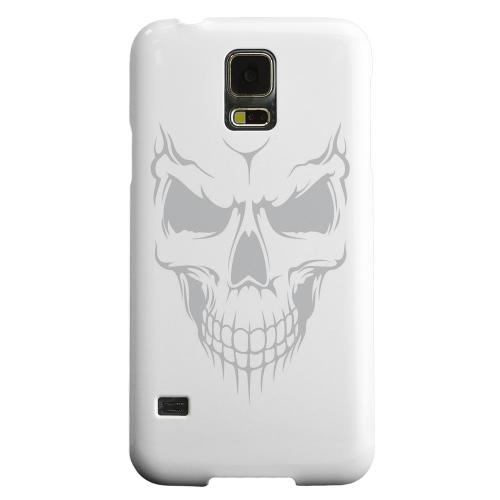 Geeks Designer Line (GDL) Samsung Galaxy S5 Matte Hard Back Cover - Evil Dead Mesh on White