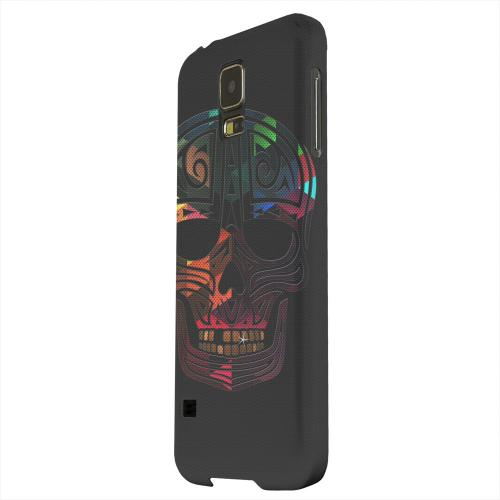 Geeks Designer Line (GDL) Samsung Galaxy S5 Matte Hard Back Cover - Rapero Muerto Geometric Color on Mesh