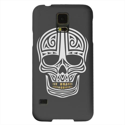 Geeks Designer Line (GDL) Samsung Galaxy S5 Matte Hard Back Cover - Rapero Muerto on Dark Mesh Dot