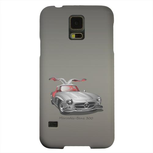 Geeks Designer Line (GDL) Samsung Galaxy S5 Matte Hard Back Cover - Classic Benz 300 Fade