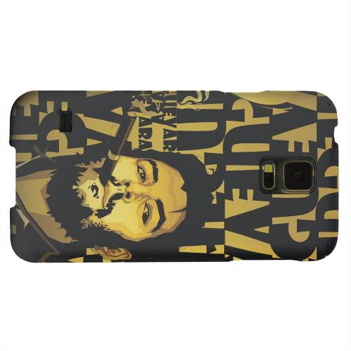 Geeks Designer Line (GDL) Samsung Galaxy S5 Matte Hard Back Cover - Che Guevara Smoke Gold