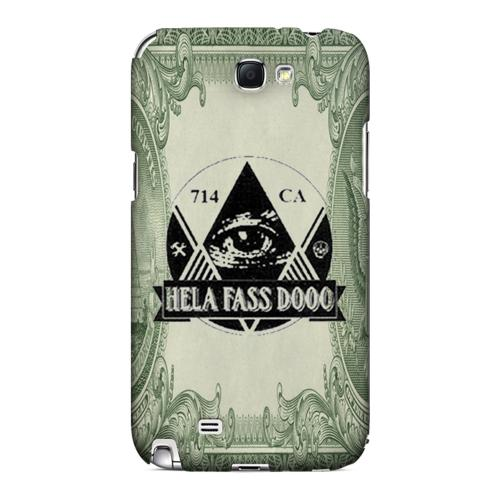HFD Illuminati Hard Plastic Case for Samsung Galaxy Note 2