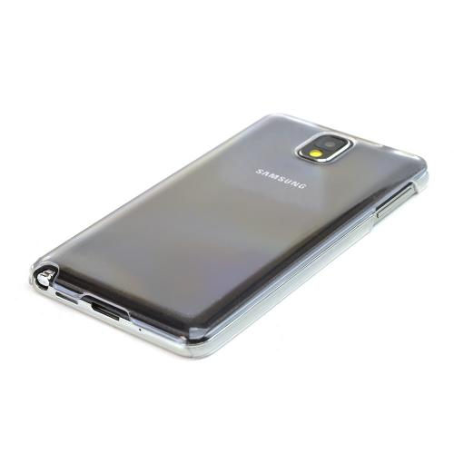 Clear Hard Back Cover Case for Samsung Galaxy Note 3