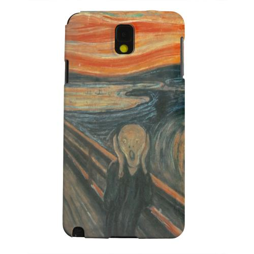Geeks Designer Line (GDL) Samsung Galaxy Note 3 Matte Hard Back Cover - Edward Munch The Scream