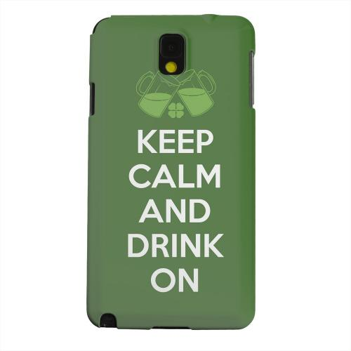 Geeks Designer Line (GDL) Samsung Galaxy Note 3 Matte Hard Back Cover - Drink On