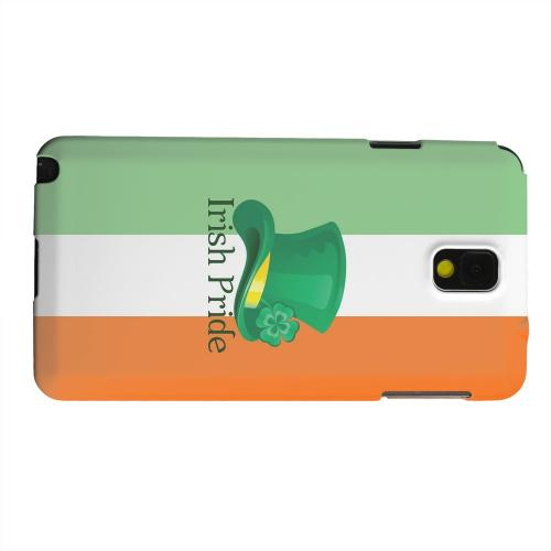 Geeks Designer Line (GDL) Samsung Galaxy Note 3 Matte Hard Back Cover - Irish Pride