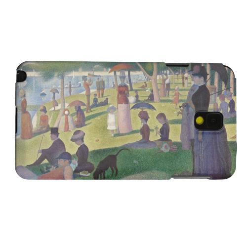 Geeks Designer Line (GDL) Samsung Galaxy Note 3 Matte Hard Back Cover - Georges Seurat Sunday Afternoon