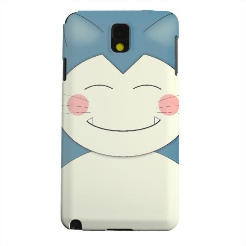 Geeks Designer Line (GDL) Samsung Galaxy Note 3 Matte Hard Back Cover - Sleepycat