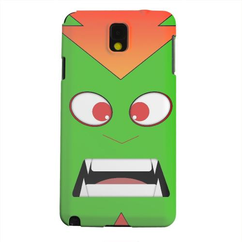 Geeks Designer Line (GDL) Samsung Galaxy Note 3 Matte Hard Back Cover - Electric Beast