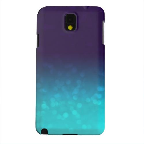 Geeks Designer Line (GDL) Samsung Galaxy Note 3 Matte Hard Back Cover - Sparkling Sea