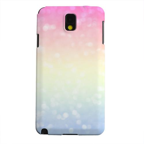 Geeks Designer Line (GDL) Samsung Galaxy Note 3 Matte Hard Back Cover - Pale Prismatic