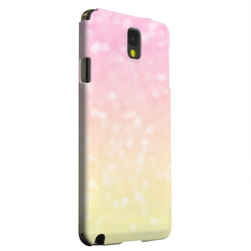 Geeks Designer Line (GDL) Samsung Galaxy Note 3 Matte Hard Back Cover - Bubble Gum Squeeze