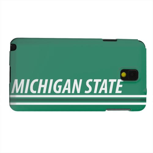 Geeks Designer Line (GDL) Samsung Galaxy Note 3 Matte Hard Back Cover - Michigan State