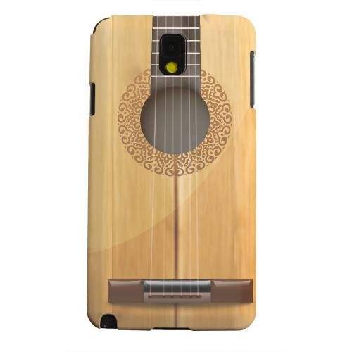 Geeks Designer Line (GDL) Samsung Galaxy Note 3 Matte Hard Back Cover - Acoustic Guitar