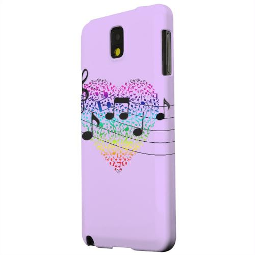 Geeks Designer Line (GDL) Samsung Galaxy Note 3 Matte Hard Back Cover - Earful of Color