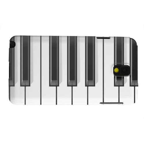 Geeks Designer Line (GDL) Samsung Galaxy Note 3 Matte Hard Back Cover - Piano Keys