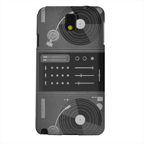 Geeks Designer Line (GDL) Samsung Galaxy Note 3 Matte Hard Back Cover - Turntabliss