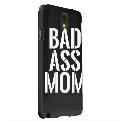 Geeks Designer Line (GDL) Samsung Galaxy Note 3 Matte Hard Back Cover - Bad Ass Mom