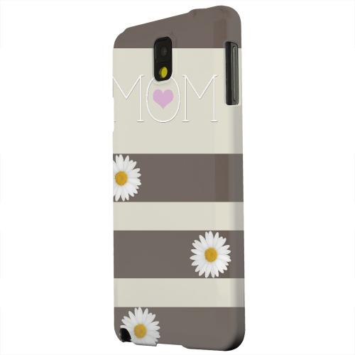 Geeks Designer Line (GDL) Samsung Galaxy Note 3 Matte Hard Back Cover - Mom Daisy