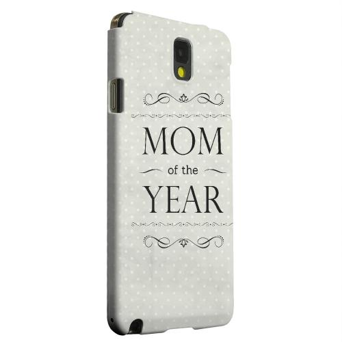 Geeks Designer Line (GDL) Samsung Galaxy Note 3 Matte Hard Back Cover - Mom of the Year