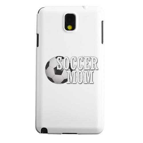 Geeks Designer Line (GDL) Samsung Galaxy Note 3 Matte Hard Back Cover - Soccer Mom