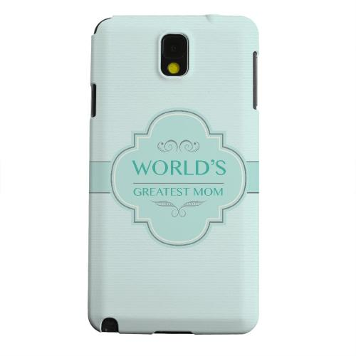 Geeks Designer Line (GDL) Samsung Galaxy Note 3 Matte Hard Back Cover - Vintage World's Greatest Mom