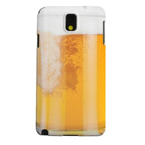 Geeks Designer Line (GDL) Samsung Galaxy Note 3 Matte Hard Back Cover - Beer Mug