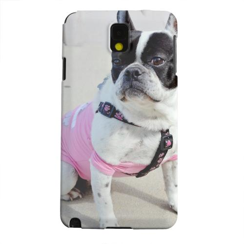 Geeks Designer Line (GDL) Samsung Galaxy Note 3 Matte Hard Back Cover - English Bulldog Mix