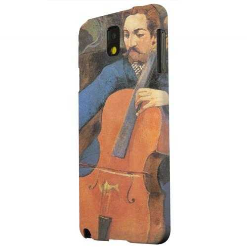 Geeks Designer Line (GDL) Samsung Galaxy Note 3 Matte Hard Back Cover - The Cellist by Paul Gauguin