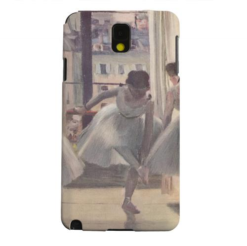 Geeks Designer Line (GDL) Samsung Galaxy Note 3 Matte Hard Back Cover - Three Dancers in an Exercise Hall by Edgar Degas