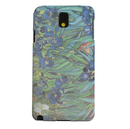 Geeks Designer Line (GDL) Samsung Galaxy Note 3 Matte Hard Back Cover - Irises by Vincent van Gogh