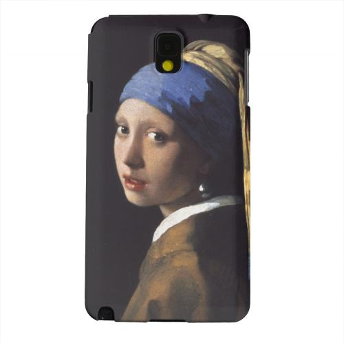 Geeks Designer Line (GDL) Samsung Galaxy Note 3 Matte Hard Back Cover - Girl with a Pearl Earring by Jan Vermeer