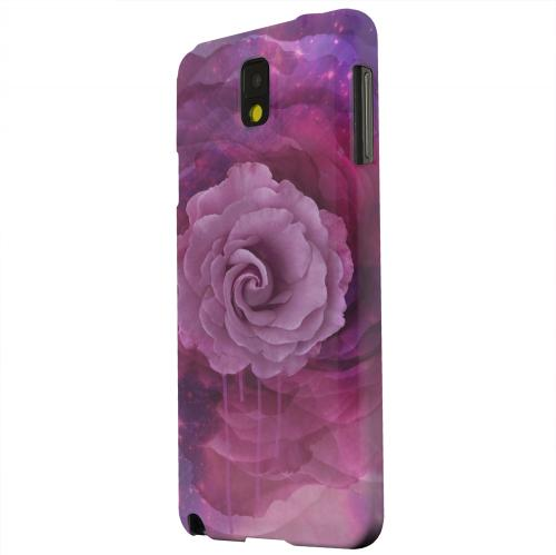 Geeks Designer Line (GDL) Samsung Galaxy Note 3 Matte Hard Back Cover - Space Bloom