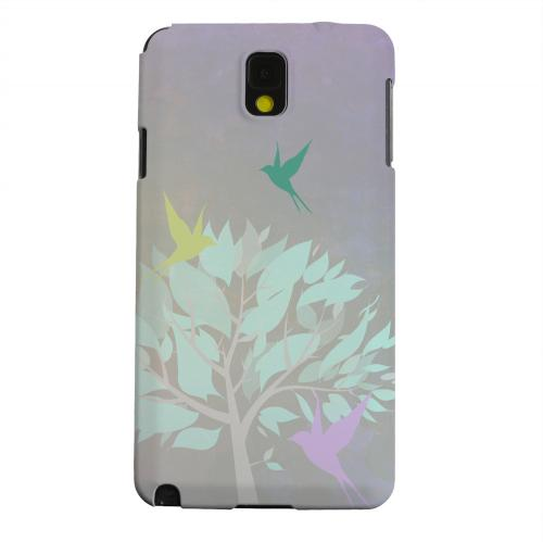 Geeks Designer Line (GDL) Samsung Galaxy Note 3 Matte Hard Back Cover - Swallow Flight
