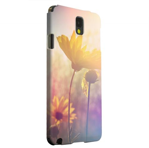 Geeks Designer Line (GDL) Samsung Galaxy Note 3 Matte Hard Back Cover - Colorful Daisy Bloom