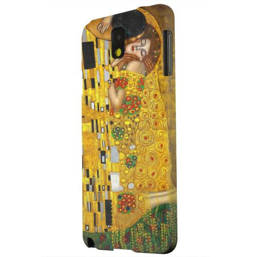 Geeks Designer Line (GDL) Samsung Galaxy Note 3 Matte Hard Back Cover - Gustav Klimt The Kiss