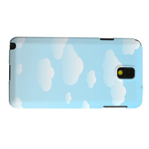 Geeks Designer Line (GDL) Samsung Galaxy Note 3 Matte Hard Back Cover - Peaceful Clouds