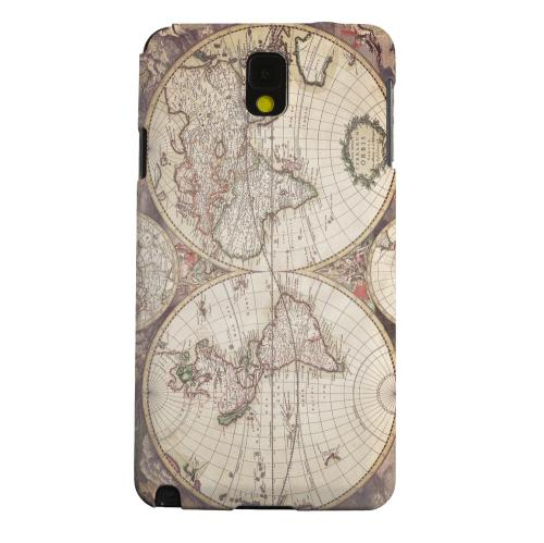 Geeks Designer Line (GDL) Samsung Galaxy Note 3 Matte Hard Back Cover - Terrarum Orbis
