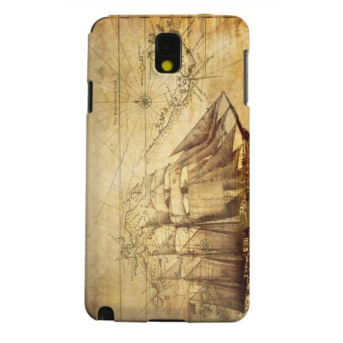 Geeks Designer Line (GDL) Samsung Galaxy Note 3 Matte Hard Back Cover - British Sea Power