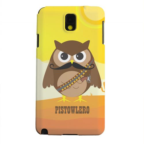Geeks Designer Line (GDL) Samsung Galaxy Note 3 Matte Hard Back Cover - Pistowlero