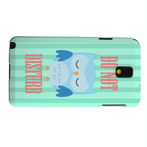 Geeks Designer Line (GDL) Samsung Galaxy Note 3 Matte Hard Back Cover - Do Not Disturb