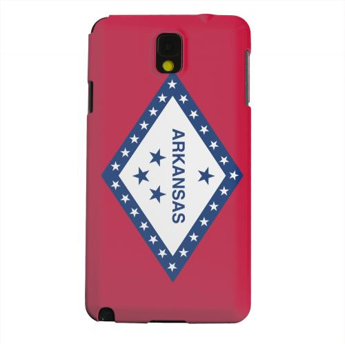 Geeks Designer Line (GDL) Samsung Galaxy Note 3 Matte Hard Back Cover - Arkansas