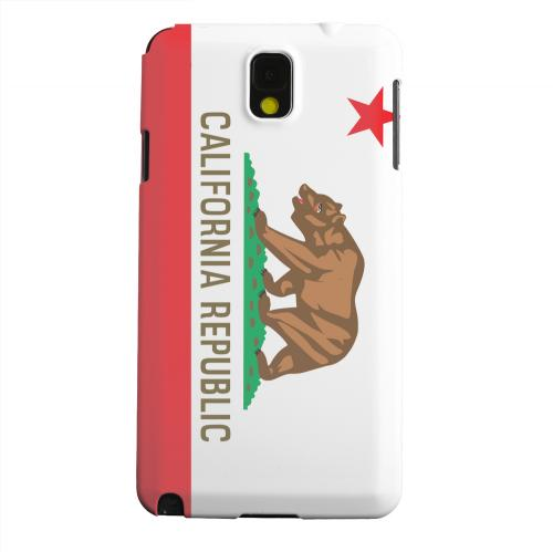 Geeks Designer Line (GDL) Samsung Galaxy Note 3 Matte Hard Back Cover - California