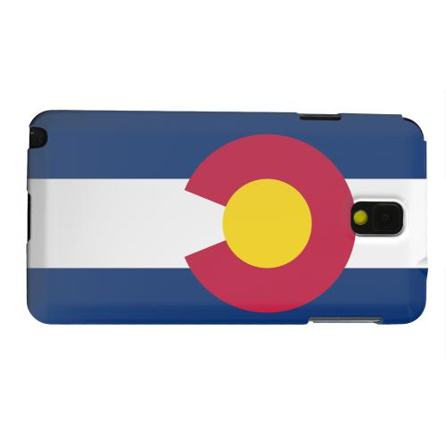Geeks Designer Line (GDL) Samsung Galaxy Note 3 Matte Hard Back Cover - Colorado