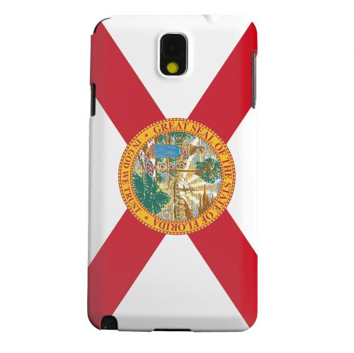 Geeks Designer Line (GDL) Samsung Galaxy Note 3 Matte Hard Back Cover - Florida