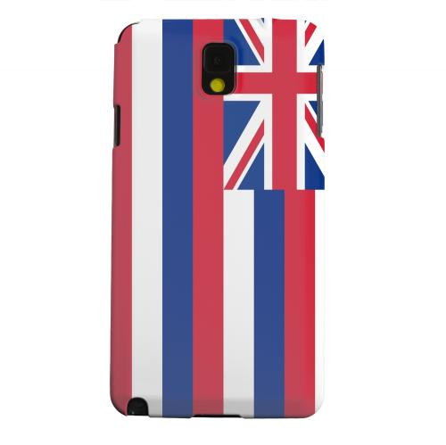 Geeks Designer Line (GDL) Samsung Galaxy Note 3 Matte Hard Back Cover - Hawaii